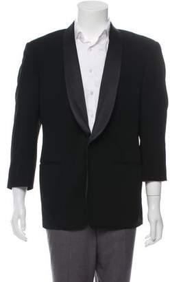 Giorgio Armani Wool Single-Button Blazer