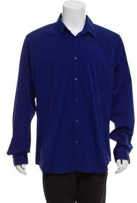 Versace Woven Dress Shirt