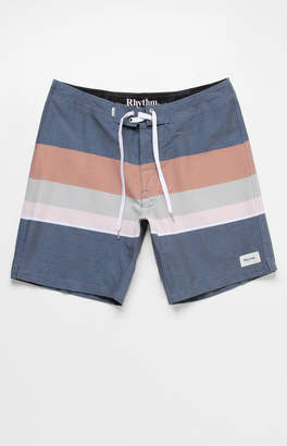 "rhythm Vintage Striped 17"" Boardshorts"
