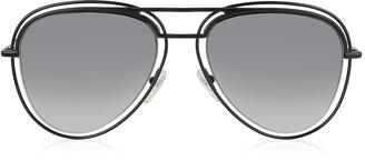 Marc Jacobs MARC 7/S Metal & Acetate Aviator Women's Sunglasses