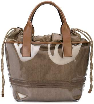 Brunello Cucinelli drawstring tote bag