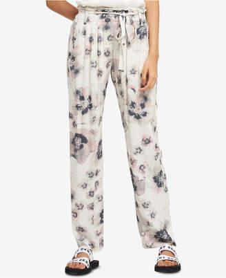 DKNY Printed Pull-On Pants
