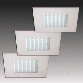 Q 68-LED Einbaustrahler in Edelstahloptik, einzeln