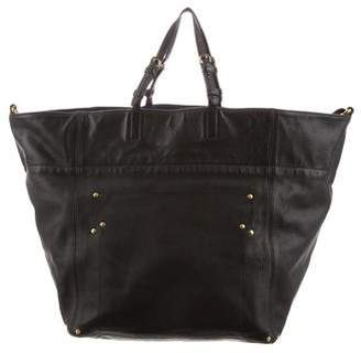 Jerome Dreyfuss Leather Jacques Tote