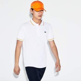 Lacoste Men's SPORT Tennis Piped Technical Pique Polo Shirt