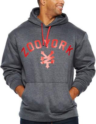 Zoo York Long Sleeve Fleece Logo Hoodie-Big and Tall