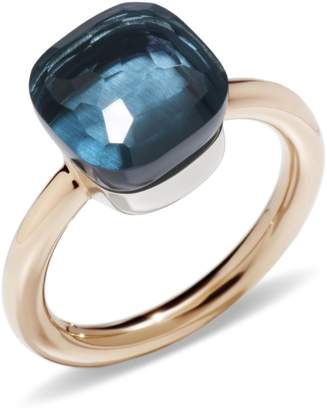 Pomellato Nudo London Blue Topaz Classic Ring