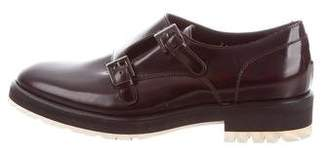 Aquatalia Patent leather Round-Toe Oxfords