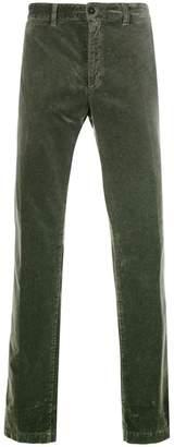 Massimo Alba velvet straight leg trousers