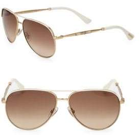 Jimmy Choo 58MM Aviator Sunglasses