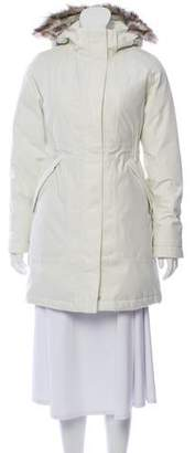 The North Face Knee Length Puffer Coat w/ Tags