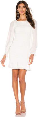 Krisa Smocked Mini Dress