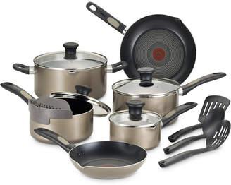 T-Fal Cook & Strain 14-Pc. Non-Stick Cookware Set