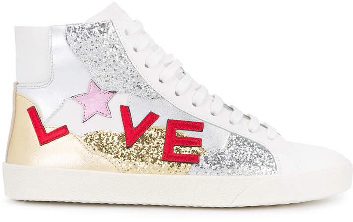 Saint Laurent hi-top sneakers