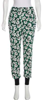 Stella McCartney 2016 Floral Print Jogger Pants