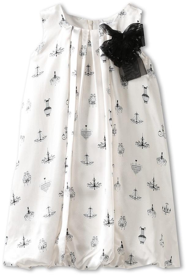 Us Angels Chandelier Dress (Little Kids/Big Kids) (Ivory) - Apparel
