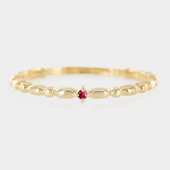 Etsy 14k gold tiny ruby ring, rose gold ruby stack ring,simple ruby ing,minimalistic ruby ring with white