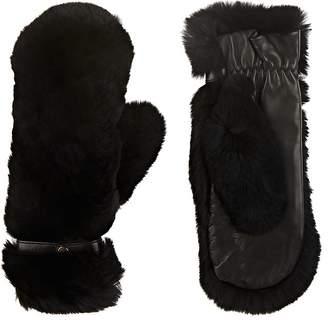 WANT Les Essentiels Women's Lenoir Fur Mittens