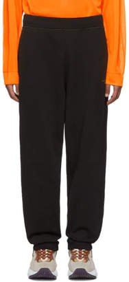 Acne Studios Black Logo Lounge Pants