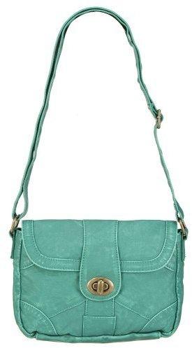 Mossimo Turnlock Crossbody Bag - Green