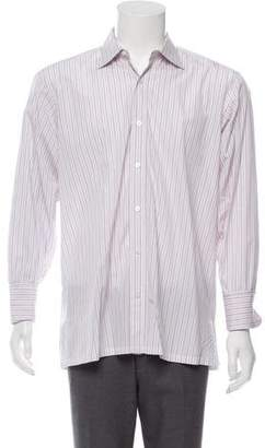Charvet French Cuff Button-Up Shirt