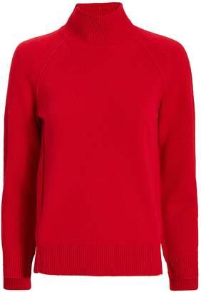 Helmut Lang Cashmere Red Turtleneck Sweater
