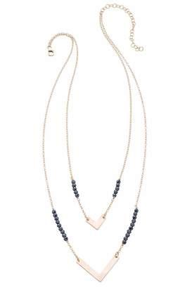 Heather Hawkins Double Chevron Necklace