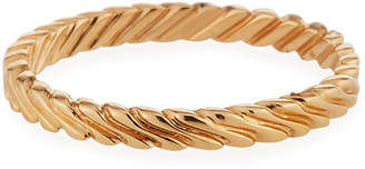 Alor 18k Rose Gold Cable Ring, Size 6.5