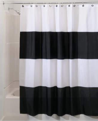 At Macys InterDesign Zeno Stripe 72 X 84 Shower Curtain