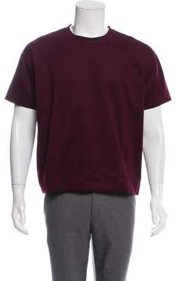 Valentino Double Layer Crew Neck T-Shirt