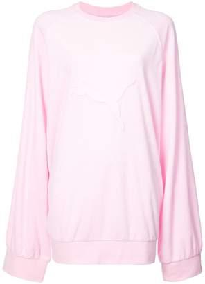 FENTY PUMA by Rihanna oversized sweatshirt