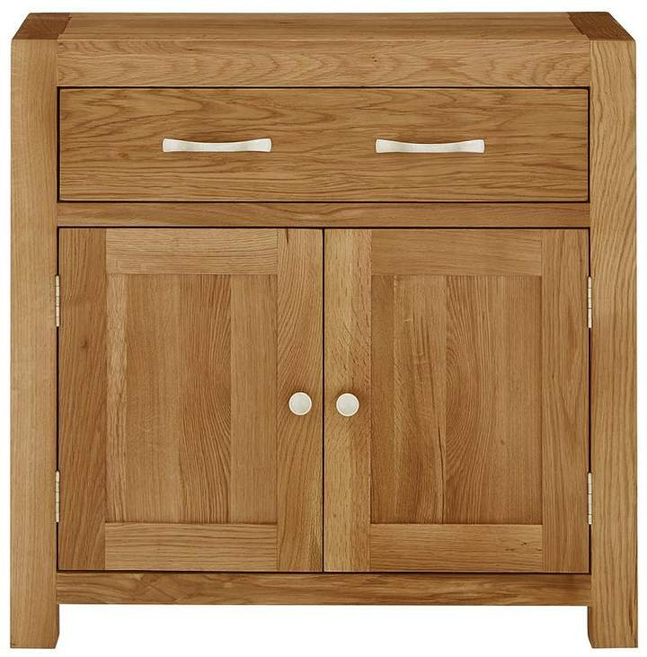 Luxe Collection - Suffolk 100% Solid Oak Ready Assembled Compact Sideboard
