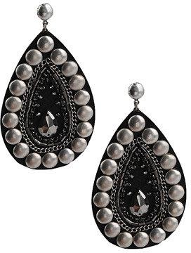Embellished Teardrop Earrings