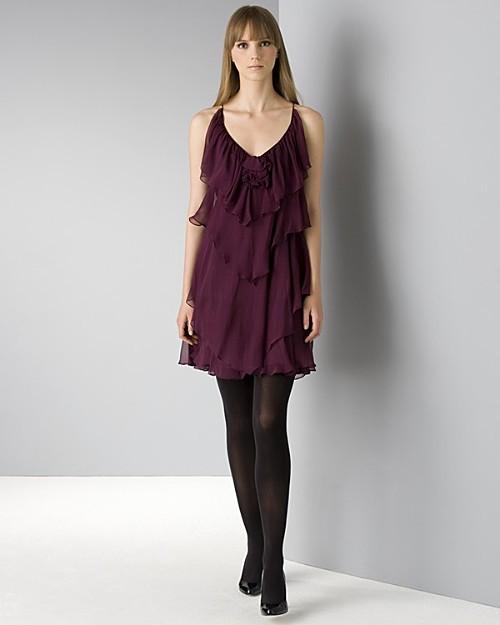 Rebecca Taylor Women's Tiered Ruffled Cami Dress