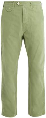 THE LOST EXPLORER Honey Badger cotton chino trousers