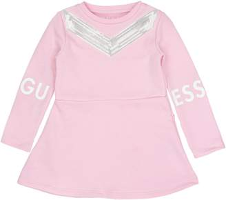 GUESS Little Girl's French Terry A-Line Dress