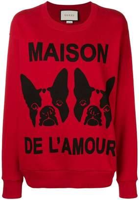 Gucci Maison de L'amour sweatshirt