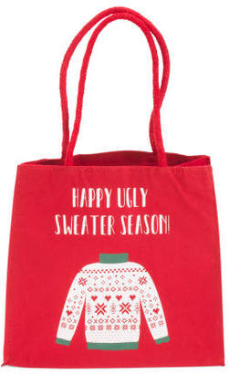 2pk Happy Ugly Sweater Season Gift Bags