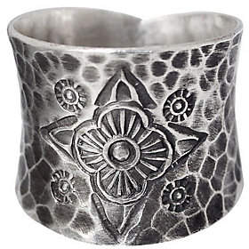 """Novica Artisan Crafted Sterling """"Dancing Flowers"""" Ring"""