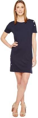 Alternative Cotton Modal Straight Up T-Shirt Dress Women's Dress