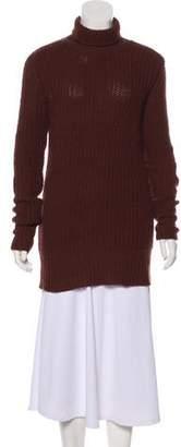 Rick Owens Moody Turtleneck Long Sleeve Sweater