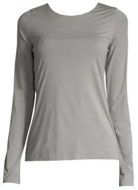 Wolford Pure Long-Sleeve Tee