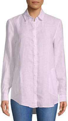 Saks Fifth Avenue Women's Linen Button-Down Shirt