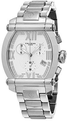 Charriol Women 's ' Columbus ' Swiss QuartzステンレススチールDress Watch , Color : silver-toned (モデル: 060t.100.t012 )