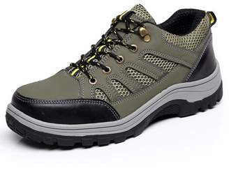 Meigar Men's Steel Toe Safety Shoes Work Sneakers Anti-Slip Hiking Climbing Boots
