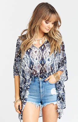 Show Me Your Mumu Peta Tunic ~ Rattle Rock