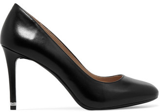MICHAEL Michael Kors - Ashby Leather Pumps - Black $110 thestylecure.com