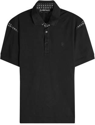Alexander McQueen Cotton Polo Shirt