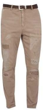 Eleventy Distressed Stretch Pants
