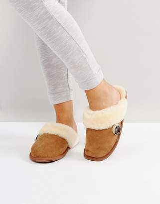 Bedroom Athletics Molly Double Faced Sheepskin Mule